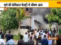 Fire breaks out in a chemical factory in Pune, 12 dead