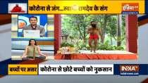 Ayurvedic remedies and yogasanas by Swami Ramdev to increase the immunity of children
