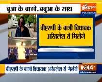 Uttar Pradesh: 9 rebel BSP MLAs will meet Akhilesh Yadav today