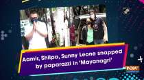 Aamir, Shilpa, Sunny Leone snapped by paparazzi in