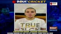 Feel Mumbai Indians have right combination to lift IPL trophy for third straight time: Rahul Chahar