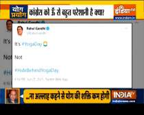 Haqikat Kya Hai: Opposition tries to Sparks Controversy in International Yoga Day