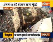 Mumbai Rains: Open manholes become