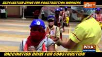 Vaccination drive for construction workers launched in Mumbai