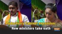 Puducherry Cabinet expansion: New ministers take oath