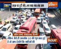 Special News | Delhi sees traffic jams, metro entry curbs as city begins