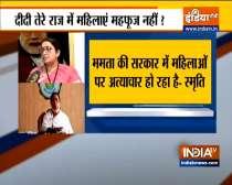 Exclusive | Watch Smriti Irani slams Mamata Banerjee over violence in Bengal