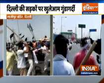 Farmers, BJP workers engage in scuffle at Delhi