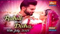 Rahul Vaidya and Disha Parmar set to tie the knot on July 16