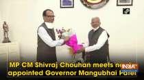 MP CM Shivraj Chouhan meets newly appointed Governor Mangubhai Patel