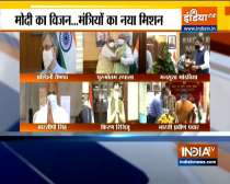 New ministers take charge day after PM Modi