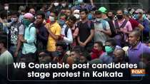 WB Constable post candidates stage protest in Kolkata