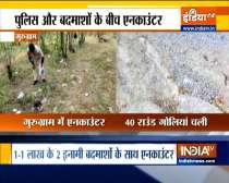 Encounter between police and miscreants in Gurugram