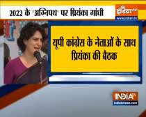 Priyanka Gandhi to hold virtual meet with UP congress leaders today