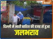 Waterlogging, traffic snarls in Delhi after heavy rain
