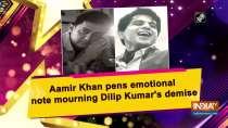 Aamir Khan pens emotional note mourning Dilip Kumar