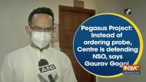 Pegasus Project: Instead of ordering probe, Centre is defending NSO, says Gaurav Gogoi