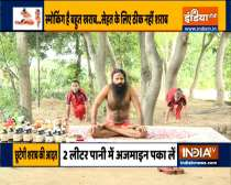 Learn Yoga and Ayurvedic Remedies to heal hernia, asthma and stomach lump