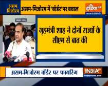 Assam CM Himanta Biswa Sarma addresses media on Assam-Mizoram border clash
