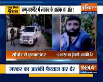 Top 9 News: Two LeT terrorists neutralised in Sopore encounter