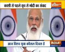 PM Narendra Modi addresses World Youth Skills Day Program
