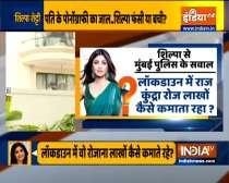 Mumbai Police records Shilpa Shetty