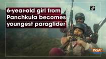6-year-old girl from Panchkula becomes youngest paraglider
