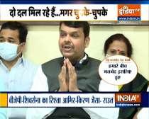 Breaking News: BJP legislators protest outside Maharashtra Legislative Assembly