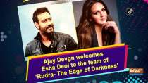 Ajay Devgn welcomes Esha Deol to the team of