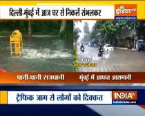VIDEO: Heavy showers cause water-logging in parts of Gurugam