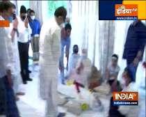 CM Uddhav Thackeray consoles Saira Banu on the passing away of Dilip Kumar