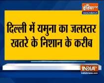 Yamuna reaches the warning mark in Delhi