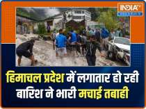 Scary visuals seen after heavy rains causes flood in Himachal