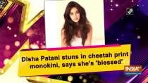 Disha Patani stuns in cheetah print monokini, says she