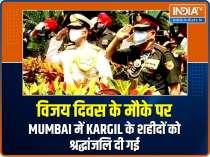 Vijay Diwas: Tribute paid to the martyrs of Kargil war in Mumbai
