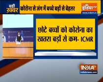 Coronavirus: Reopen primary schools, suggests ICMR