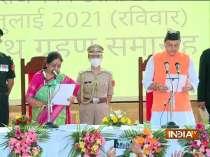 Pushkar Singh Dhami takes oath as 11th chief minister of Uttarakhand