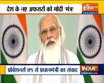 PM Modi addresses IPS probationers via video conferencing