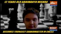 12 year old Abhimanyu Mishra becomes youngest Grandmaster in chess history