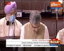 Rajya Sabha adjourned till tomorrow amid opposition uproar over Pegasus scandal
