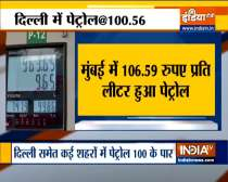 Petrol prices hiked again, Rs 100.56 per litre in Delhi