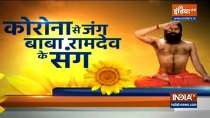 For risk of bone death post covid recovery, learn yoga and ayurvedic treatment from Swami Ramdev