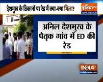 ED raids Anil Deshmukh