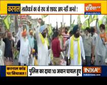 Police lathi-charge on farmers in Karnal triggers political tussle