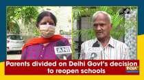 Parents divided on Delhi Govt