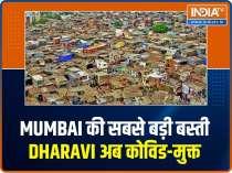 Dharavi, the biggest slum in Mumbai, now Covid-free