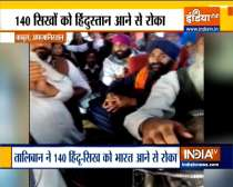 Taliban stop 140 Afghan Hindu-Sikh pilgrims from travelling to India
