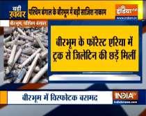 West Bengal: Huge quantity of explosives recovered in Birbhum