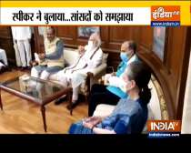 LS Speaker holds meeting with the leaders of the House after Lok Sabha adjourned Sine Die