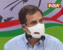 What this country built over the last 70 years, is being given away: Rahul Gandhi